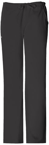 Black - Cherokee Luxe Low Rise Drawstring Pant