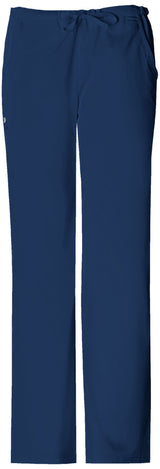 Navy - Cherokee Luxe Low Rise Drawstring Pant