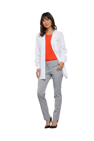 "White - Cherokee Professional Whites 32"" Women's Lab Coat"