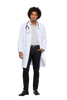 "White - Cherokee Lab Coats 40"" Men's Lab Coat"