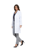 "White - Cherokee Lab Coats 40"" Unisex Lab Coat"