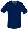 Navy - Cherokee Luxe Men's V-Neck Top