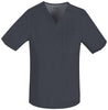 Pewter - Cherokee Luxe Men's V-Neck Top