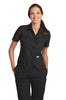 MOBB Button Front Work Top - Avida Healthwear Inc.