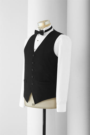 Neil Allyn Men's 5 Button Vest