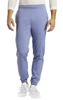 Ceil Blue - White Cross Fit Men's Jogger Pant