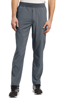 Pewter - White Cross Fit Men's Pull On Pant