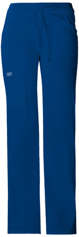 Galaxy Blue - Cherokee Workwear Core Stretch Low Rise Drawstring Cargo Pant