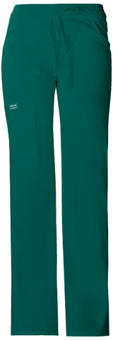 Hunter - Cherokee Workwear Core Stretch Low Rise Drawstring Cargo Pant