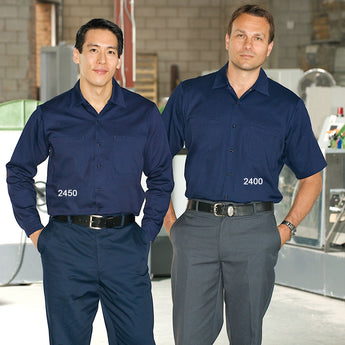 Premium Uniforms Cotton Work Shirt - Avida Healthwear Inc.