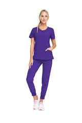 Grape - Cherokee Infinity Round Neck Top