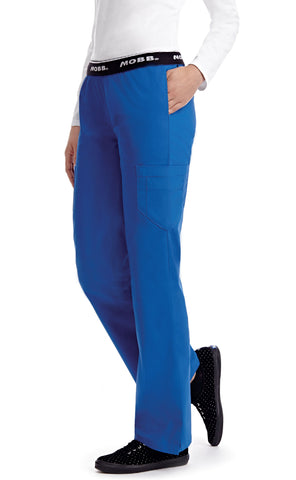 Royal Blue - MOBB Boot Cut Flip Flap Pant