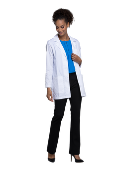 White - Cherokee Lab Coats 32