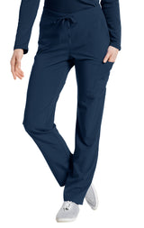 Navy - White Cross Fit Cargo Pocket Pant
