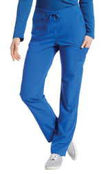 Royal - White Cross Fit Cargo Pocket Pant