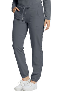 White Cross Fit Jogger Pant - Avida Healthwear Inc.