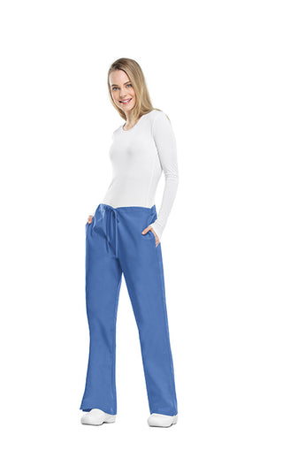 Ciel - Cherokee Workwear Originals Natural Rise Drawstring Pant