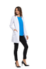 "White - Cherokee Workwear Core Stretch 33"" Women's Lab Coat"