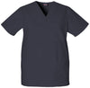 Pewter - Cherokee Workwear Originals Unisex V-Neck Top