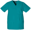 Teal Blue - Cherokee Workwear Originals Unisex V-Neck Top