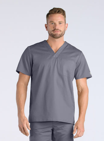 Pewter - Maevn EON Men's V-Neck Top