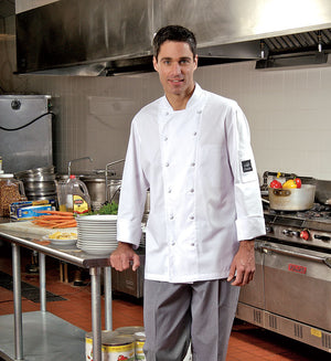 Premium Uniforms Chef Coat With Mesh - Avida Healthwear Inc.