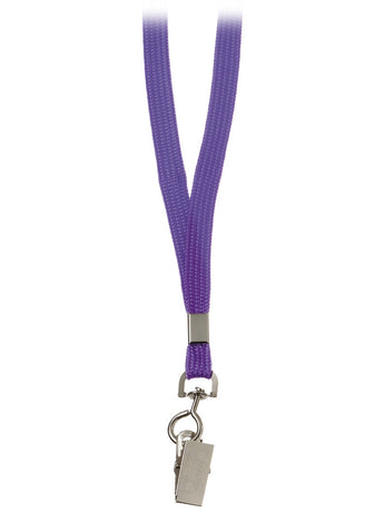 Purple - Prestige Medical Basic Lanyard