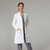 White - Maevn Red Panda Women's Long Lab Coat