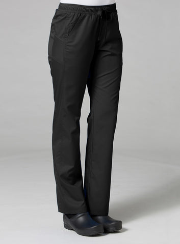 Black - Maevn EON Sporty Mesh Panel Pant
