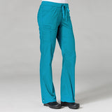 Teal Blue - Maevn PrimaFlex Inner Beauty Straight Leg Pant