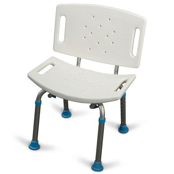 AMG Medical AquaSense Adjustable Bath Seat With Back - Avida Healthwear Inc.