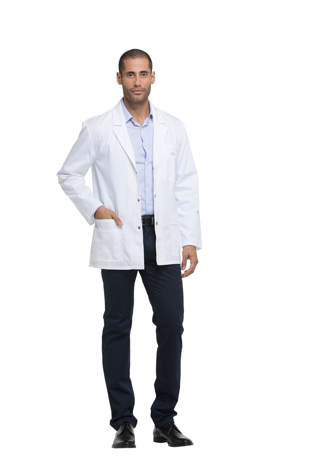 "Dickies White - Dickies Gen Flex Men's 31"" Lab Coat"