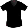 Black - Dickies Gen Flex Mock Wrap Top
