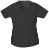 Dark Pewter - Dickies Gen Flex Mock Wrap Top