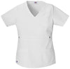 Dickies White - Dickies Gen Flex Mock Wrap Top