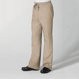 Khaki - Maevn Red Panda Men's Full Elastic 10-Pocket Cargo Pant