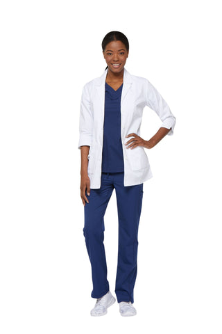 "Dickies White - Dickies Lab Coats 30"" Women's Lab Coat"