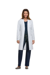 "Dickies White - Dickies Lab Coats 40"" Unisex Lab Coat"