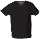 Black - Dickies EDS Signature Unisex V-Neck Top
