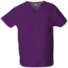 Eggplant - Dickies EDS Signature Unisex V-Neck Top