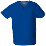 Galaxy Blue - Dickies EDS Signature Unisex V-Neck Top