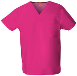 Hot Pink - Dickies EDS Signature Unisex V-Neck Top