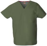 Olive - Dickies EDS Signature Unisex V-Neck Top