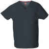 Pewter - Dickies EDS Signature Unisex V-Neck Top