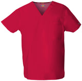 Red - Dickies EDS Signature Unisex V-Neck Top