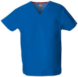 Royal - Dickies EDS Signature Unisex V-Neck Top