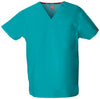 Teal Blue - Dickies EDS Signature Unisex V-Neck Top