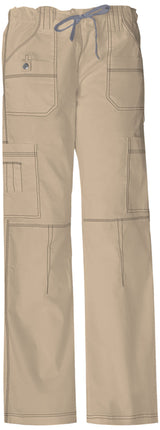 Dark Khaki - Dickies Gen Flex Low Rise Drawstring Cargo Pant