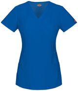 Royal - Dickies Xtreme Stretch Mock Wrap Top