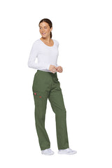 Olive - Dickies EDS Signature Natural Rise Tapered Leg Pull On Cargo Pant